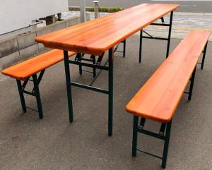ビアテーブルベンチ